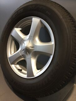 "ISUZU D-MAX 17"" GENUINE ALLOY WHEELS AND TYRES  Carramar Fairfield Area Preview"