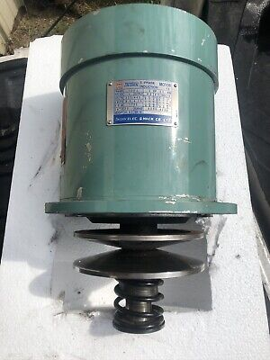 Used Replacement Motor For Bridgeport Type Mill Milling Machine Variable Speed