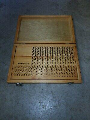 Fowler Plug Pin Gage Set C10 .011-.250 Minus