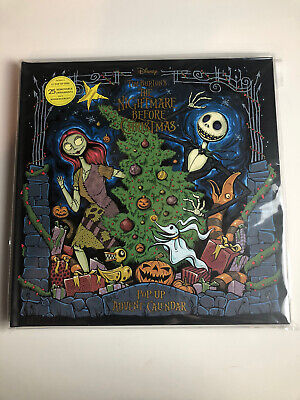 The Nightmare Before Christmas: Advent Calendar and Pop-Up Book, NEW
