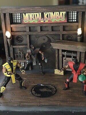 Action Figure Mortal Kombat Arena Diorama