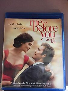 DVD/Blu Ray - Me before you
