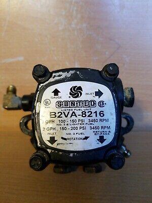 Used Suntec B2ya-8216 Oil Burner Pump With Delay Oil Valve