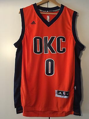 Maglia canotta NBA basket Russell Westbrook Jersey Oklahoma Thunder S,M,L,XL,XXL