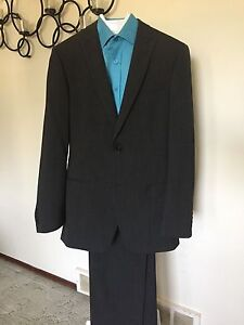 Grey TipTop tailor suit: Report Collection- $150