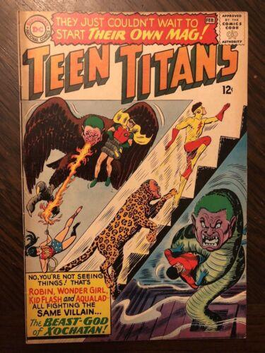 TEEN TITANS #1 (Jan-Feb 1966, DC) VF + CONDITION!