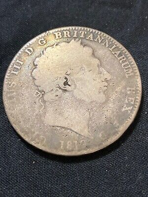 1819 LIX Great Britain Silver Crown - George III - Scarce