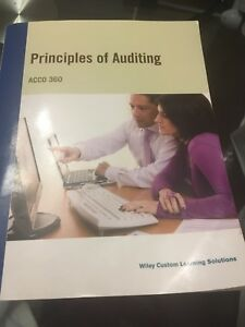 Principles of Auditing ACCO 360