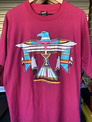 Vintage 90s Native American T-Shirt Best Fruit Of The Loom (Best Hip Hop Of 1990s)