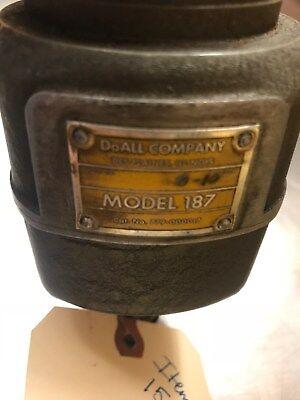 Doall Tapping Head 0-10 Model 187 Cat 779-000017 2 Morse Shank