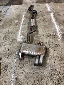 Bmw e90 3series completes exhaust