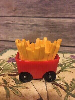 HTF Vintage Fisher Price little people red/yellow French fry car McDonald's 2552