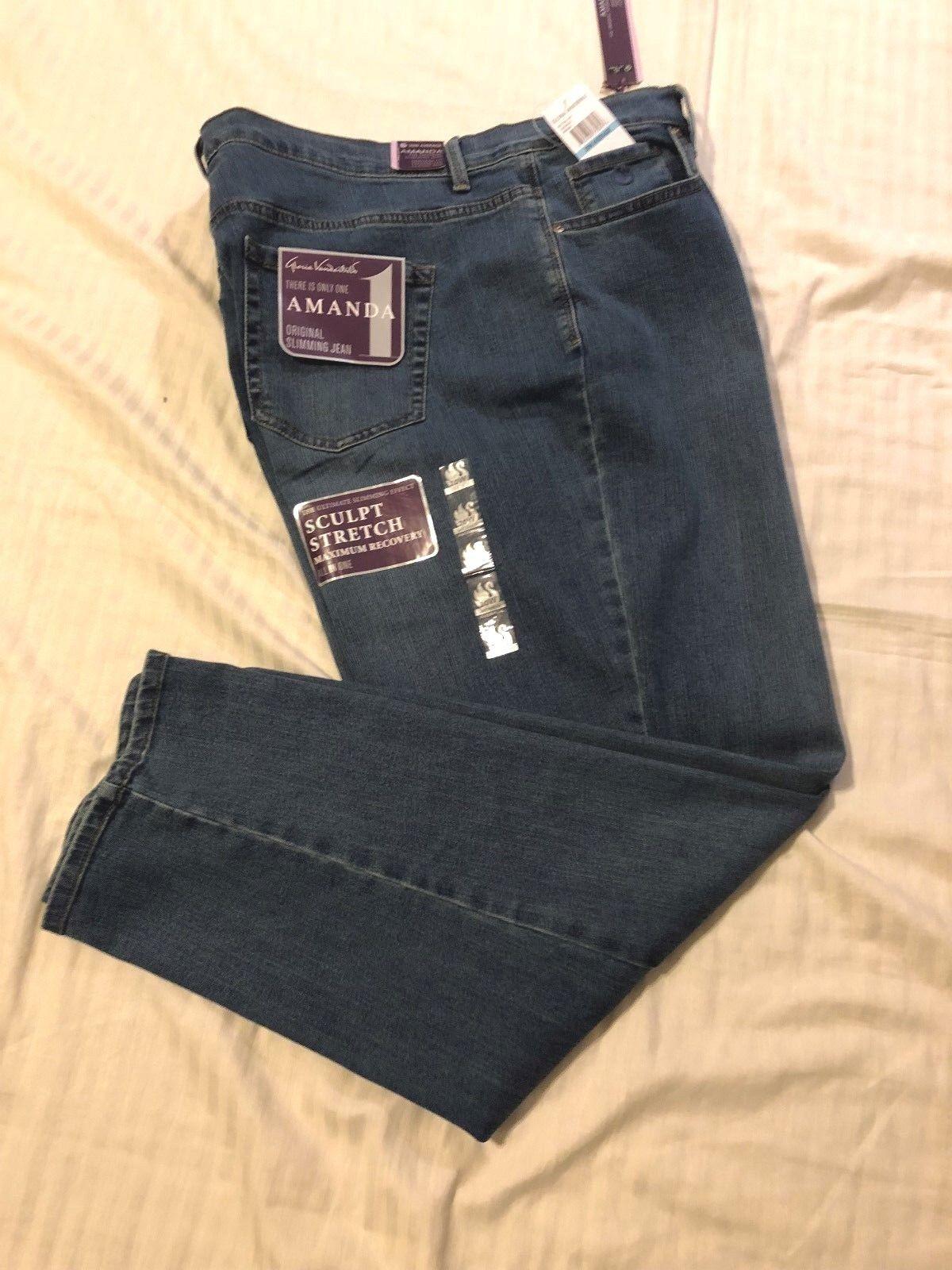 Gloria Vanderbilt Jeans: Women Amanda Orig Slimming Stretch,