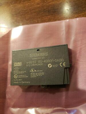 Used 1pc. Siemens 6es7132-4bb31-0ab0 6es71324bb310ab0 Simatic S7 Tested