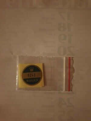 🛑A) 6240 Rolex vintage DAYTONA Sticker Aufkleber Etiqueta Adhesivo adesivo comprar usado  Enviando para Brazil