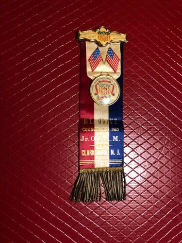Antique Fraternal Medal/Ribbon