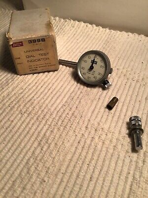 Vintage Lufkin 399b Universal Dial Test Indicator With Original Box