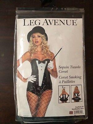Halloween costume women .sequin tuxedo. Medium. New with tags. Sexy!! - Women Tuxedo Costume