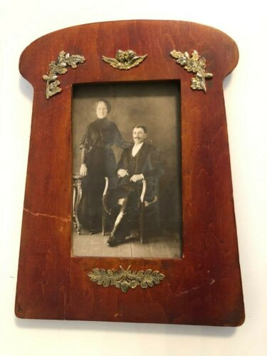 Russian 84 sterling silver photo frame