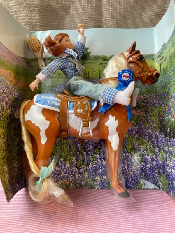Breyer Horse Little Debbie Doll & Pinto Pal Oatmeal Cream 2004 Special Edition