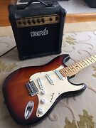 ELECTRIC GUITAR WITH AMP Mitcham Whitehorse Area Preview