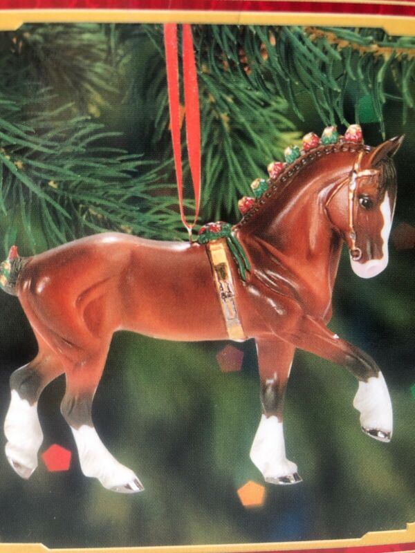 BREYER #700508 Clydesdale 2008 Beautiful Breeds Holiday Christmas Ornament NIB