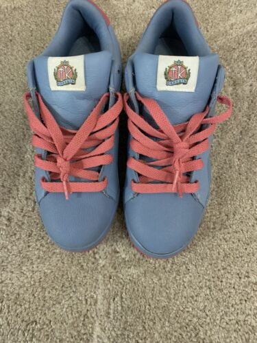 Reebok Ice Cream Pharrell Captain Blue Pink Leather Sneaker Men's Shoe 10.5 44