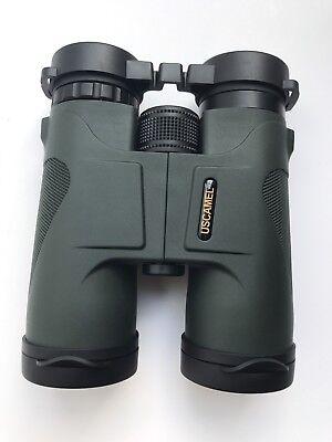 USCAMEL Binoculars Compact for Bird Watching, 10x42 Military HD Professional Hun