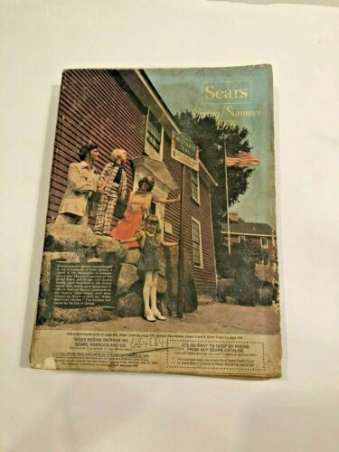 Sears Catalog Spring and Summer 1976    X4C