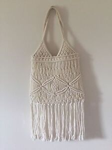 Small boho crochet bag with tassels Cannon Hill Brisbane South East Preview