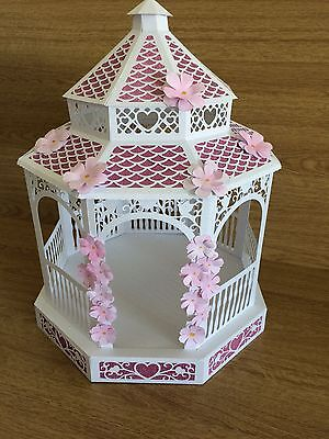 3D BANDSTAND die cut shape KIT Tattered lace Cutting Craftorium Weddings