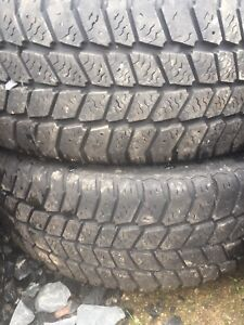 Two tires 195/60r15 lots of tread