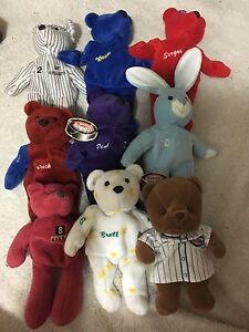 Salvino's bammers and other collectors beanies hockey baseball