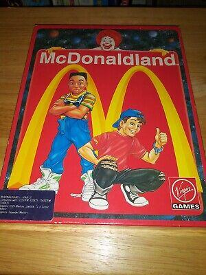 Atari ST STE McDonaldland Virgin Games Rare Disk Manual Boxed