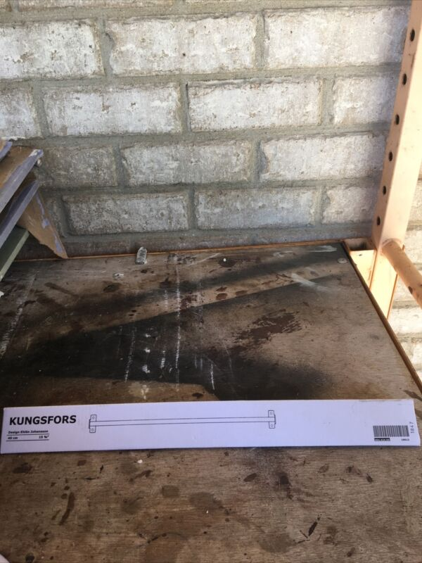 "IKEA KUNGSFORS rail stainless steel (40 Cm) 15 1/4""- AA-2122644-1"
