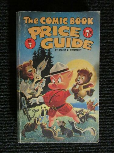 Overstreet Comic Book Guide #7  1977-1978  Complete