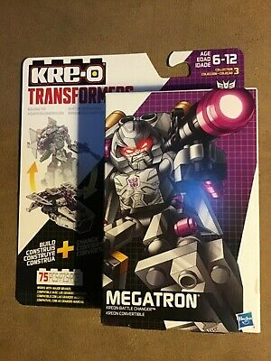 KRE-O TRANSFORMERS MEGATRON KREON BATTLE CHANGER 75 PIECES
