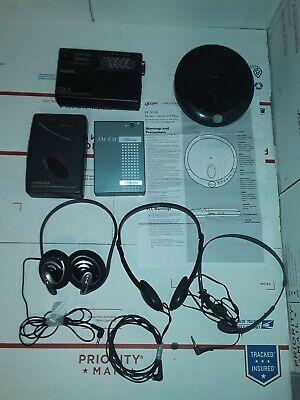 Lot *Portable Radios/Tape Players Tesonic, StarLite/Philco, Walkman w/ Headphone for sale  Shipping to India