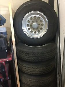 Trailer 6 bolt tires and rims