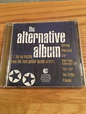 CD 'the alternative album' compilation from the 'best guitar bands around' used