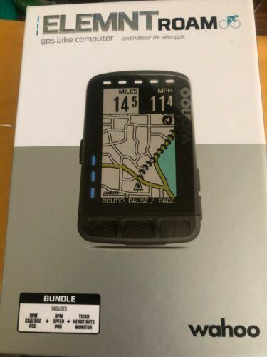 Wahoo WFCC4 ELEMNT Roam GPS Bike Computer  User Friendly Smart Navigation