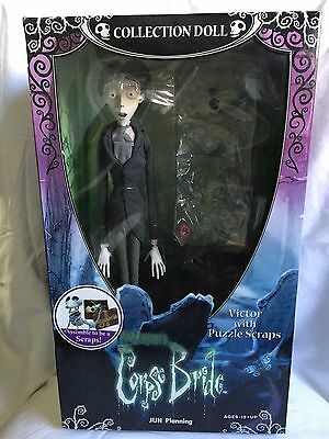 Tim Burton's Corpse Bride Victor & Scraps Collector Doll box never opened ()