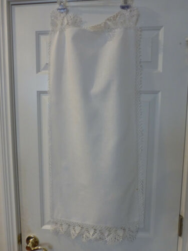 Antique Lace Table Runner  White 18