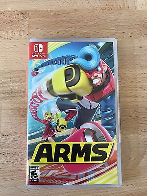Arms  Nintendo Switch  2017  Fast Shipping