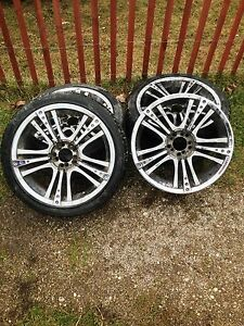 18 inch Rims and 3 Tires