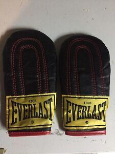 Everlast punching bag gloves