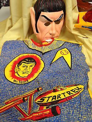 Vintage Star Trek- Mr Spock Ben Cooper Halloween SMALL kids costume - Mr Spock Halloween Costume