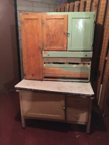 Antique Kitchen Hutch- Hobby Project
