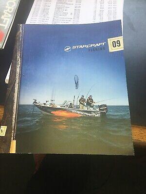 2009 Starcraft Fishing Boats Brochure
