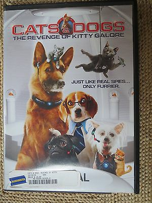 Cats & Dogs The Revenge of Kitty Galore (Rental Version,DVD)  (G)